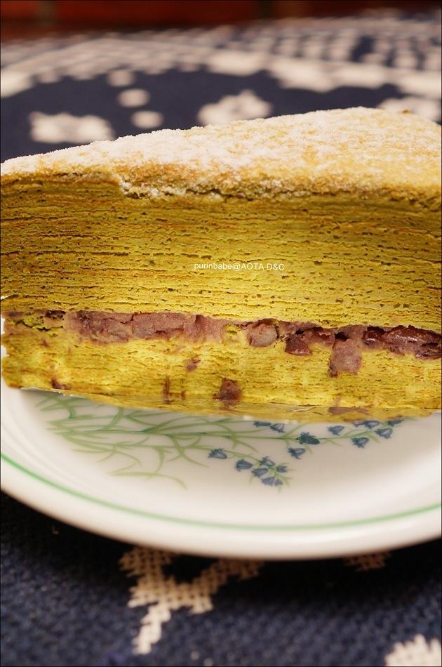 31靜岡抹茶紅豆千層蛋糕2