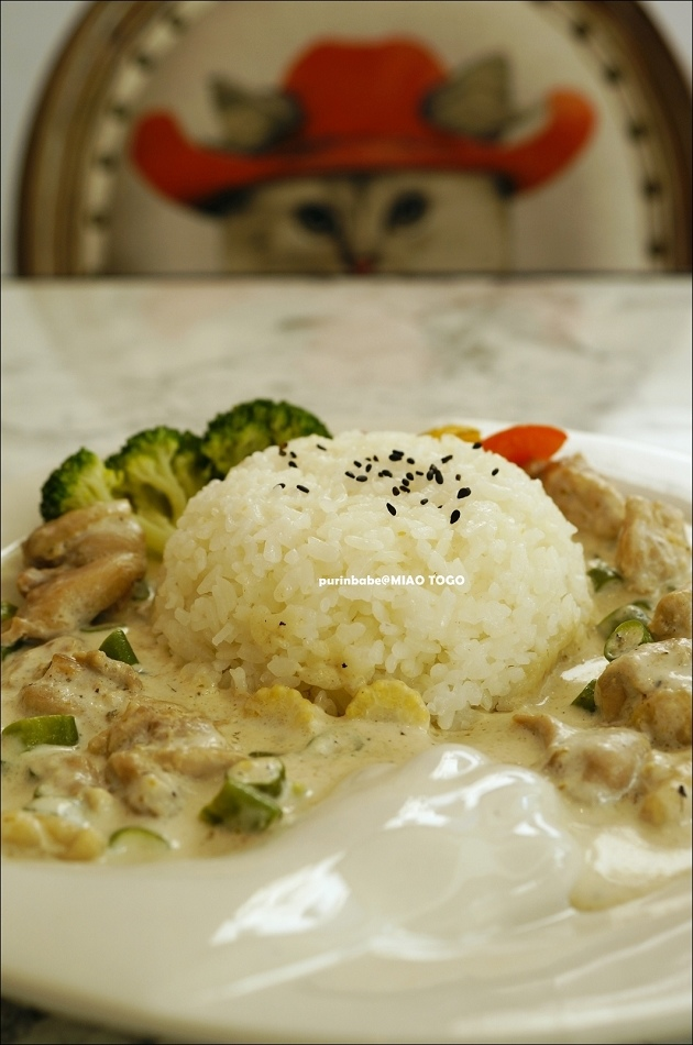 32爺吃綠咖哩雞肉飯3