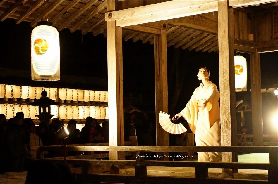 33八幡神社春乃流奉納舞踊2