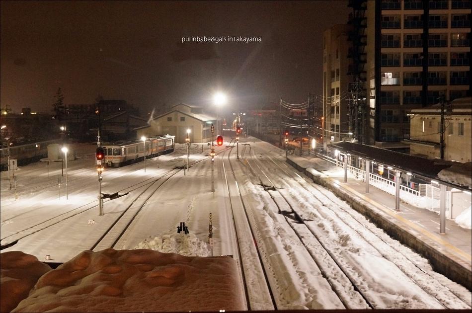 8覆雪高山車站