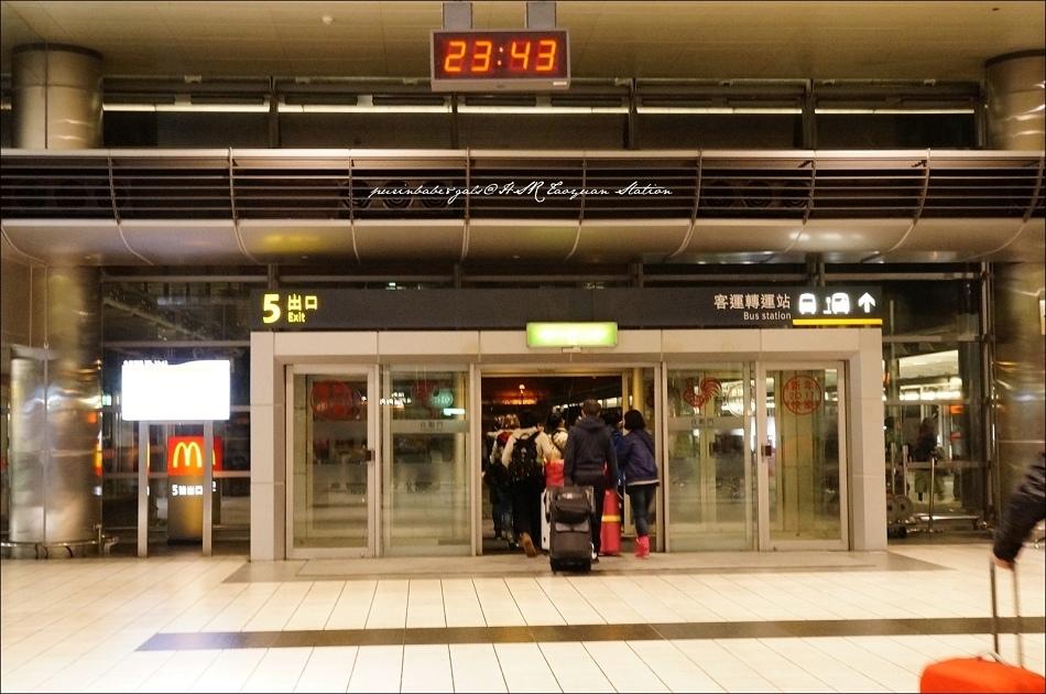2抵達桃機高鐵站