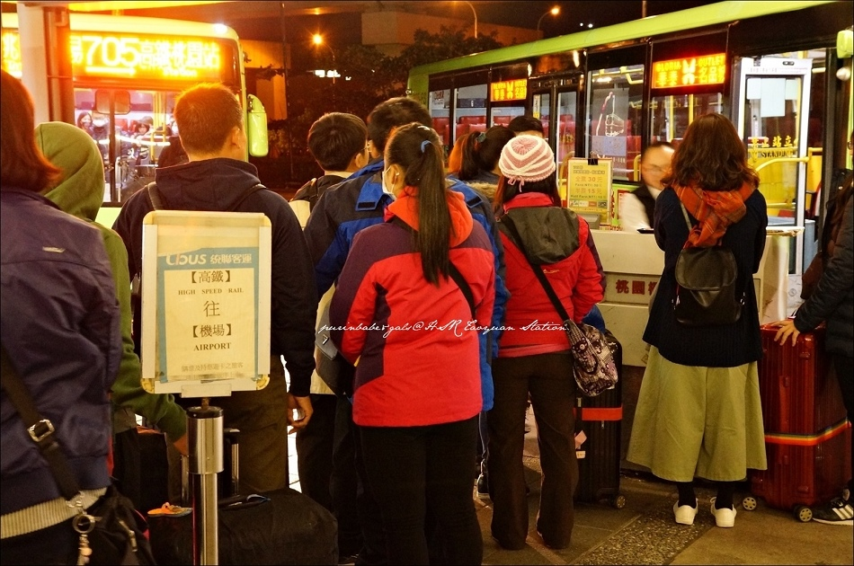 4桃機高鐵站搭接駁車到桃園機場2