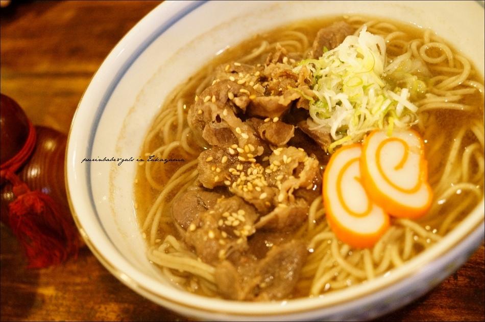 19飛驒牛肉蕎麥麵1