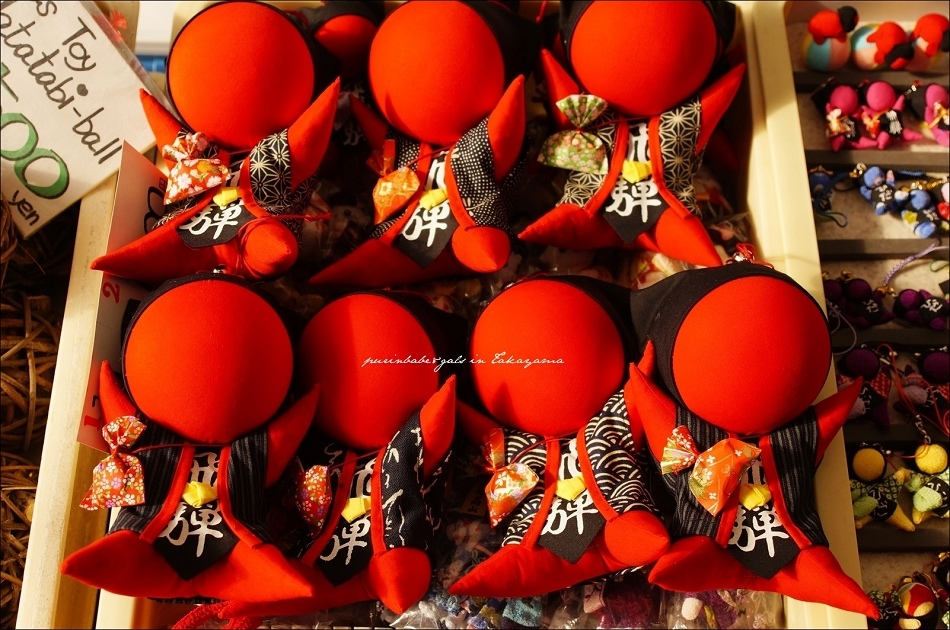 22宮川朝市入口歐巴醬的猴子娃娃2