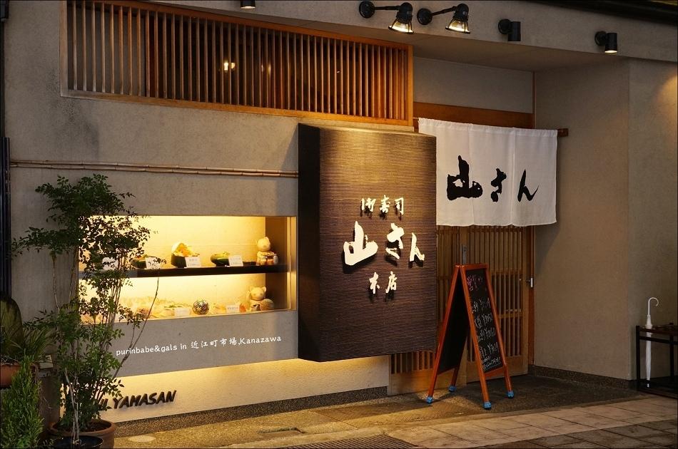 6近江町市場市姬神社口壽司山さん1