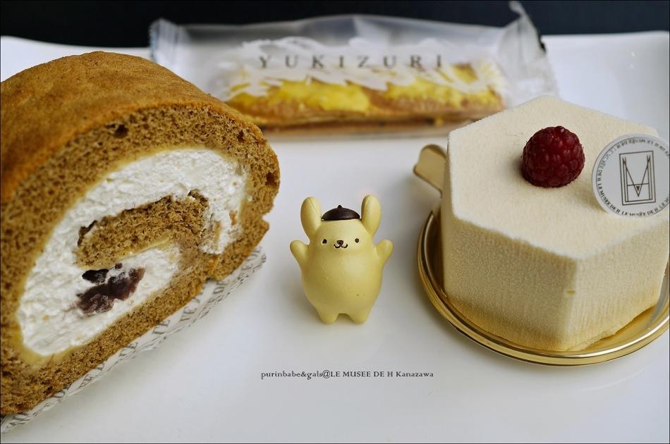 33加賀棒茶蛋糕捲及C'est la vie