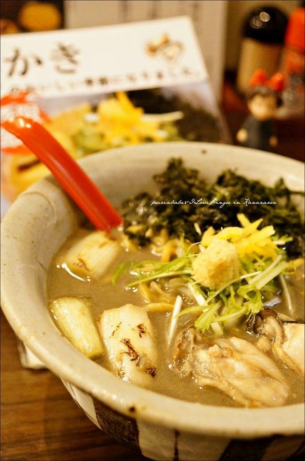 16冬季限定黑味噌牡蠣拉麵1