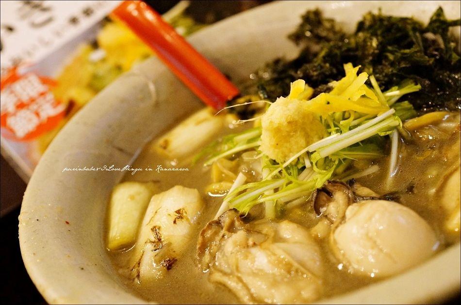 17冬季限定黑味噌牡蠣拉麵2