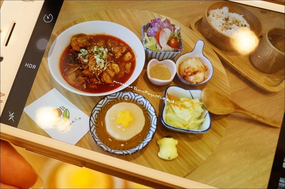 20泡菜炒春雞定食2