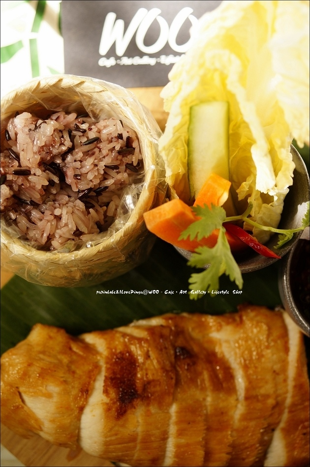 38泰北鄉村烤豬糯米飯3
