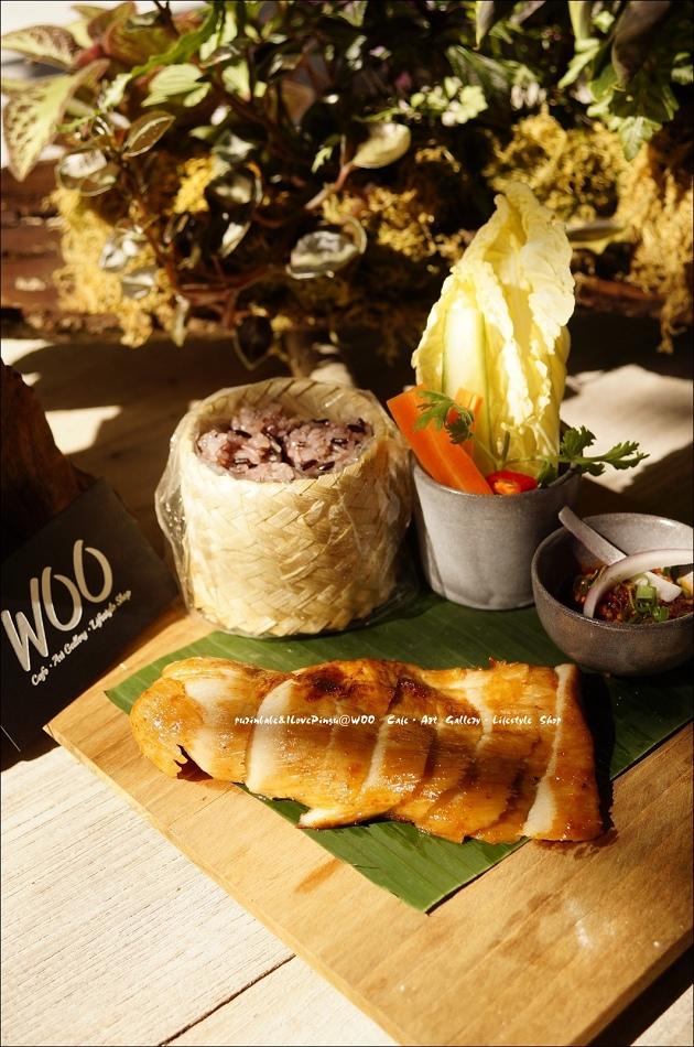 37泰北鄉村烤豬糯米飯2