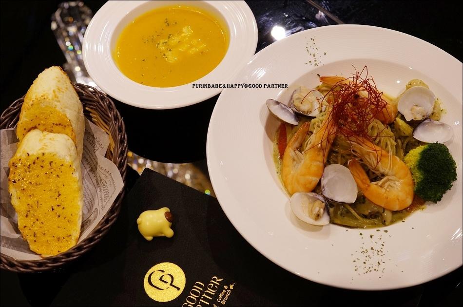21羅勒海鮮總匯義大利麵A套餐
