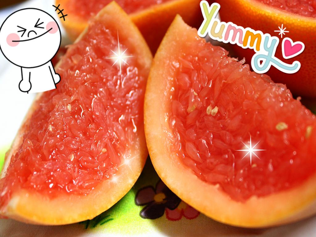 葡萄柚果凍