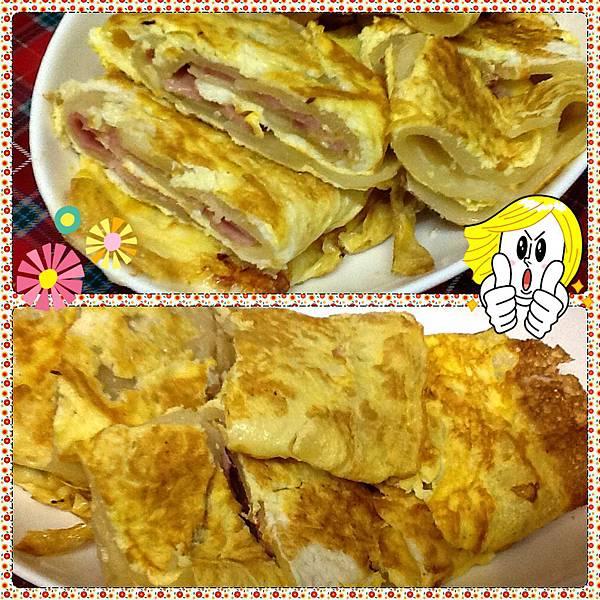 【亂煮】自製早餐蛋餅