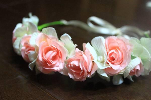 【手作】玫瑰花圈