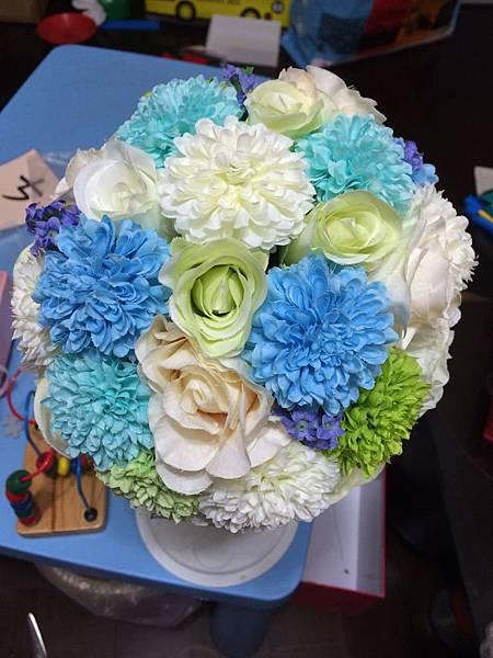 土耳其藍捧花