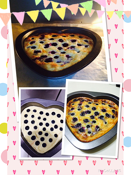 藍莓乳酪塔