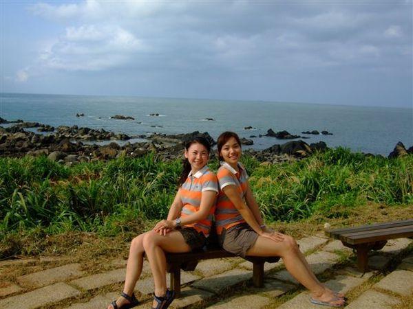富貴角燈塔的看海view也很讚喔!