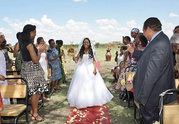 新娘走地毯