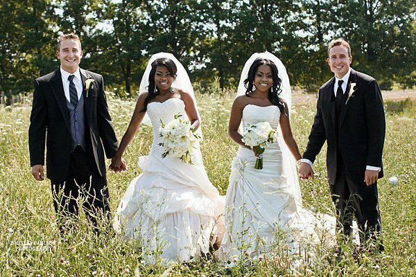 雙胞胎姐妹和雙胞胎兄弟結婚