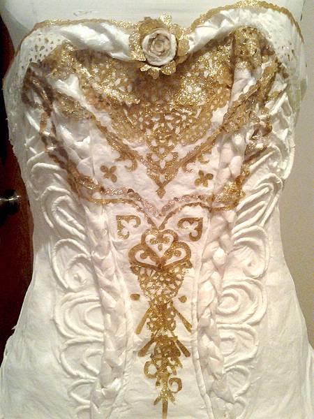 用紙做的白紗-Olivia Mears2