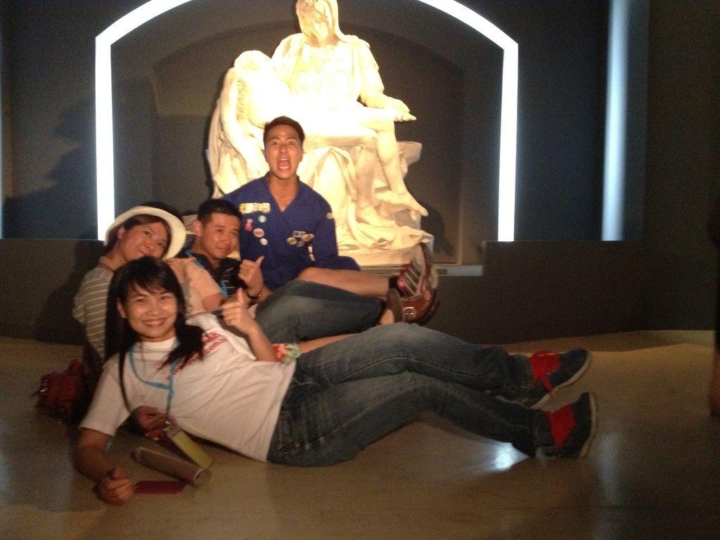 藍隊pose照