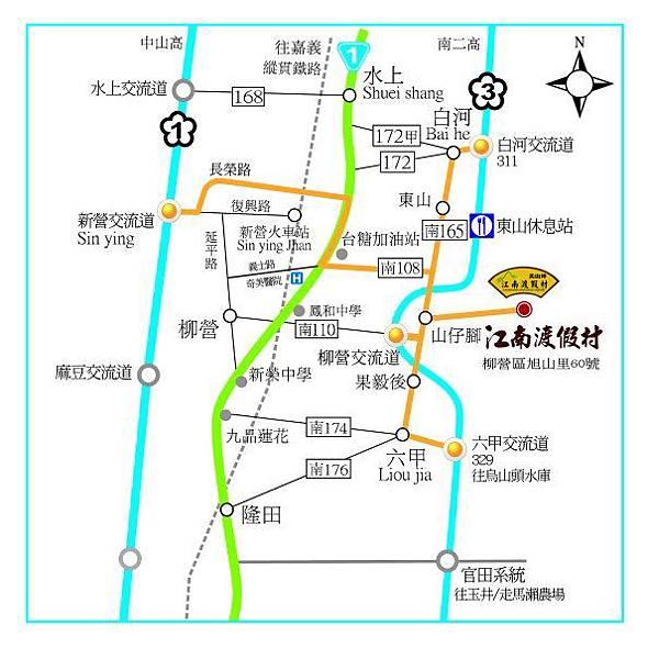 尖山埤地圖