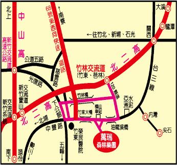 萬瑞森林樂園地圖