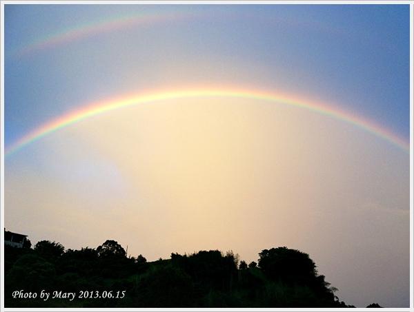 201306.15峨眉柑橘園彩虹-1