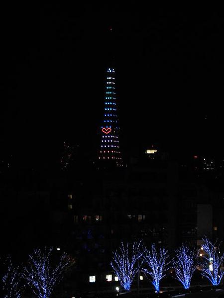 有愛心的東京鐵塔