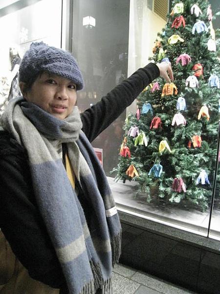 班尼頓聖誕樹太可愛