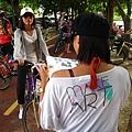 綠廊騎單車