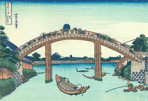 2016071804 深川萬年橋下