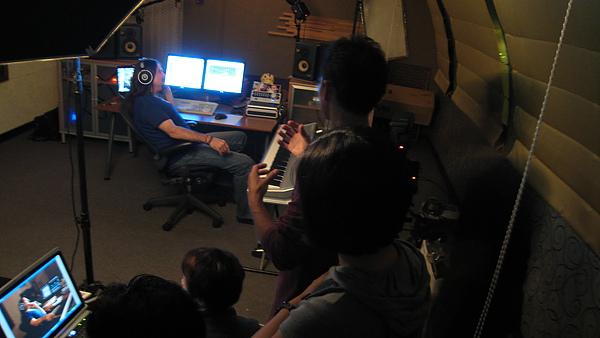 錄音室宣傳照