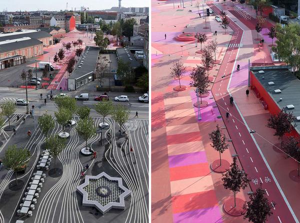 丹麥哥本哈根的共融公園,使原本種族間有矛盾的舊社區,重新擁有和樂共處的生活環境。