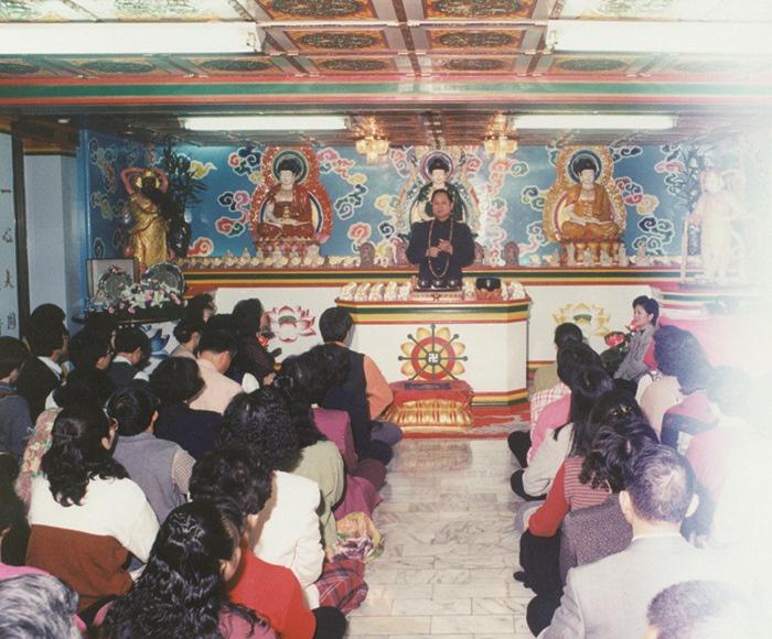 198709成立大覺如來精舍,是早期代表性的禪修道場