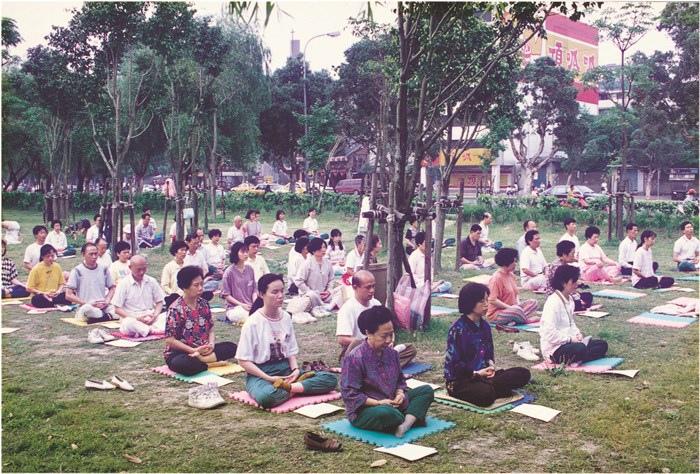 為散播「普化」種子,印心禪學會在各地展開晨間禪活動