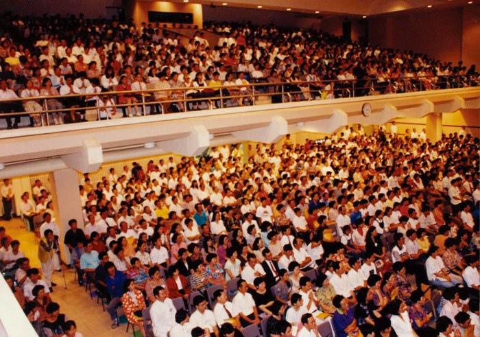 在高雄師範大學大禮堂,舉辦「印心禪法 啟發智慧」發表會