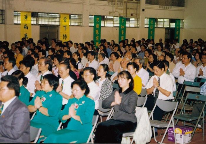 於台北市金華國中舉辦「印心佛法發表會」_1