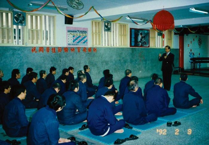 妙天禪師親臨解毒班上課-台灣台北看守所029