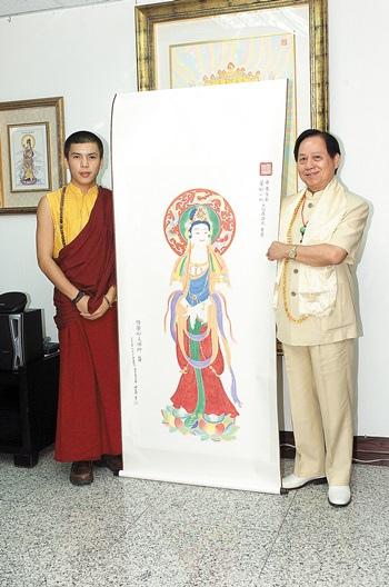 菩曼仁波切與悟覺妙天禪師