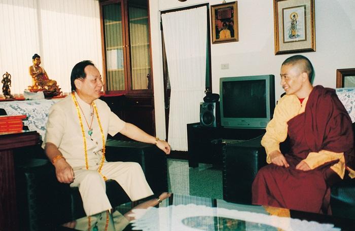 西藏密宗紅教寧瑪仁波切拜會妙天禪師
