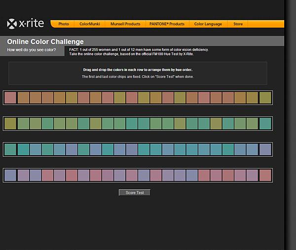 Color-Test - Online-Color-Challenge - X-Rite - 01