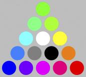圖樣(sRGB轉換為Adobe RGB)