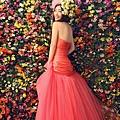 ab0052970韓式蕾絲韓版修身收腰魚尾新娘婚紗禮服秋冬季新款2608-5