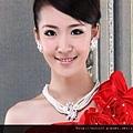 ea002825模特配套新娘 項鏈+耳環+戒指+手鏈 四件套-1
