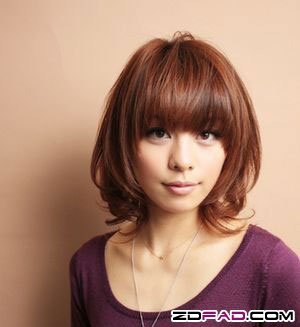 日系最流流行髮型 中長髮型盡顯優雅女人味(5)-中和魔法天使之家-精緻剪髮100元燙.染500元