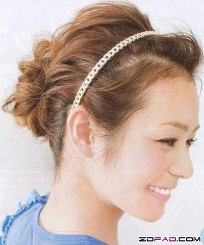 流行髮型:夏日最清爽美麗10款盤髮-中和魔法天使之家-精緻剪髮100元燙.染500元