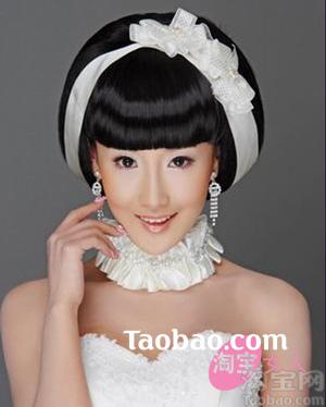 新娘髮型36