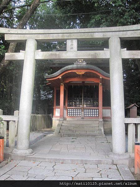 瘟神社 八坂神社聚集了很多各地的神社
